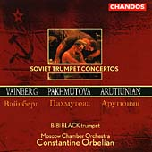 Soviet Trumpet Concertos / Black, Orbelian, Moscow CO