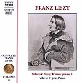 Liszt: Complete Piano Music Vol 17 / Valerie Tryon