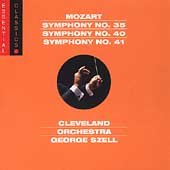 Mozart: Symphonies no 35, 40, 41 /Szell, Cleveland Orchestra