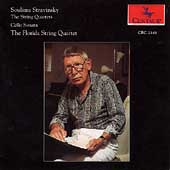 S. Stravinsky: String Quartets, etc / Florida String Quartet