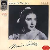 Violeta Valéry - Verdi: Traviata highlights /Callas, Tebaldi