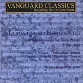 Masterpieces - Beethoven: Piano Works / Hungerford