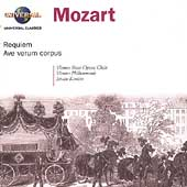 Mozart: Requiem, Ave Verum Corpus /Kert&#233;sz, Vienna PO, et al