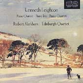 Kenneth Leighton: Piano Quintet, etc / Markham, Edinburgh