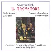 Verdi: Il Trovatore / Luigi Ricci, Stella Roman, et al