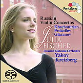 Russian Violin Concertos / Julia Fischer, et al
