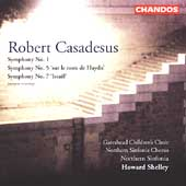 Casadesus: Symphony no 1, etc / Shelley, et al