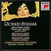 Strauss: Four Last Songs, Lieder, etc / Popp, Gruberova, etc