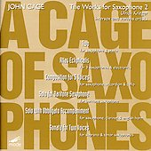 Cage: The Works for Saxophone 2 / Krieger, et al