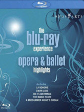The Blu-Ray Experience: Opera & Ballet Highlights [Blu-Ray]