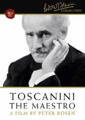 Arturo Toscanini: The Maestro - Documentary plus Verdi's Hymn of the Nations, Jan Peerce [DVD]