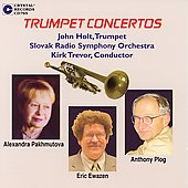 Pakhmutova, Ewazen, Plog: Trumpet Concertos / Holt, Trevor
