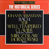 The Historical Series - Bach / Horszowski