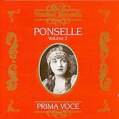 Prima Voce - Rosa Ponselle Vol 2