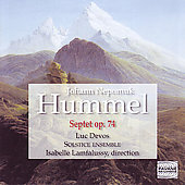 Hummel: Septet;  Mozart: Symphony no 39 / Devos, et al