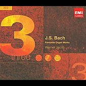 Triples - Bach: Favorite Organ Works / Werner Jacob