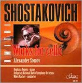 Shostakovich: Works for Cello / Somov, Popova, Nachev, Bulgarian National Radio SO