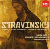 Stravinsky: Symphonies / Sir Simon Rattle, Berlin PO, et al