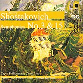 Shostakovich: Symphonies no 3 & 15 / Kofman, et al