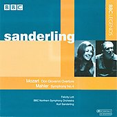 Mozart: Don Giovanni Overture;  Mahler: Symphony no 4 / Kurt Sanderling, Felicity Lott, BBC Northern SO