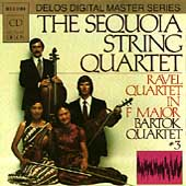Ravel, Bartok: String Quartets / Sequoia Quartet