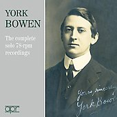 Bowen: Complete solo 78-rpm recordings