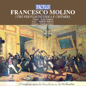Molino: Trios for Flute, Viola and Guitar / Tamponi, Mallozzi, Giglio