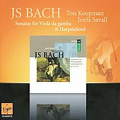 Bach: Sonatas for Viola da Gamba / Jordi Savall, Ton Koopman