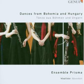 Dances from Bohemia and Hungary - works by Dvorak, Brahms, Liszt / Ensemble Prisma