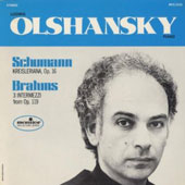 Schumann: Krisleriana Op. 16; Brahms: 3 Intermezzi from Op. 119