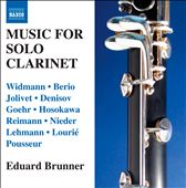Works for Solo Clarinet / Eduard Brunner