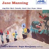 Jane Manning sings Weir, Nash, Connolly, Bauld, Elias, et al