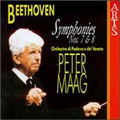 Beethoven: Symphonies no 7 & 8 / Peter Maag, Padova e Veneto
