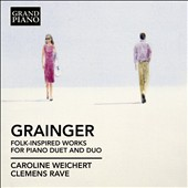 Percy Grainger: Folk-Inspired Works for Piano / The Bilder Duo