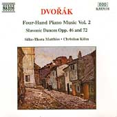 Dvorák: Four-Hand Piano Music Vol 2 / Matthies, Köhn