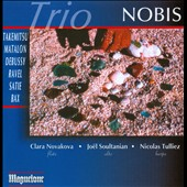 Trio: Takemitsu, Matalon, Debussy, Ravel, Satie, Bax / Trio Nobis