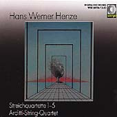 Henze: String Quartets / Arditti Quartet