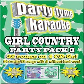 Karaoke: Party Tyme Karaoke: Girl Country Party Pack, Vol. 3 [Box]