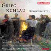 Grieg, Kuhlau: Piano Concertos / Malling, Schonwandt