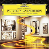 Mussorgsky: Pictures at an Exhibition; Mussorgsky: Night on Bald Mountain; Tchaikovsky: Waltz from Swan Lake / Vienna PO, Dudamel