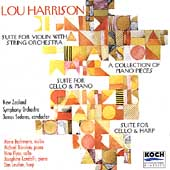 Harrison: Suite for Violin, etc / Bachman, Sedares, et al