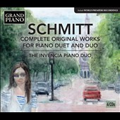Florent Schmitt (1870-1958): Complete Piano Duet and Duo Works / Invencia Piano Duo