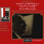 Mahler: Symphony no 8 / Mitropoulos, Coertse, Zadek, et al