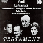 Verdi: La Traviata / Serafin, Stella, Gobbi, La Scala, et al