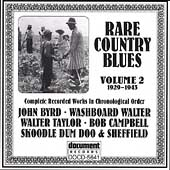 Various Artists: Rare Country Blues, Vol. 2: 1929-1943