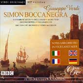 Verdi: Simon Boccanegra / Matheson, Bruscantini, Ligi, et al