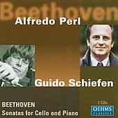 Beethoven: Sonatas for Cello and Piano / Schiefen, Perl