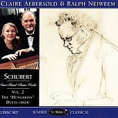 Franz Schubert: Four-Hand Works, Vol 2 / Aebersold, Neiweem