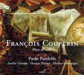 Fran&ccedil;ois Couperin: Pieces d violes / Paolo Pandolfo, Amelie Chemin, Thomas Boysen, Markus Hunninger