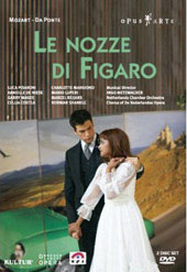 Mozart: The Marriage of Figaro / The Netherlands Opera, Luca Pisaroni [2 DVD]